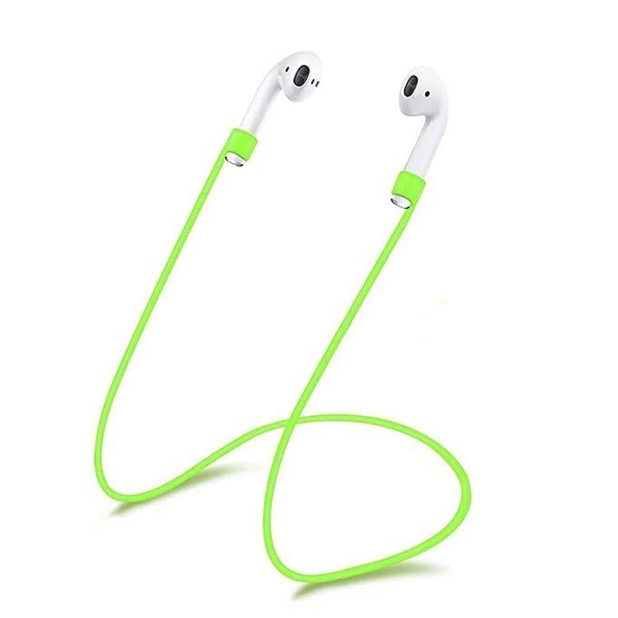 Apple Airpods Strap - Soporte de silicona para Airpods: Amazon.es: Electrónica