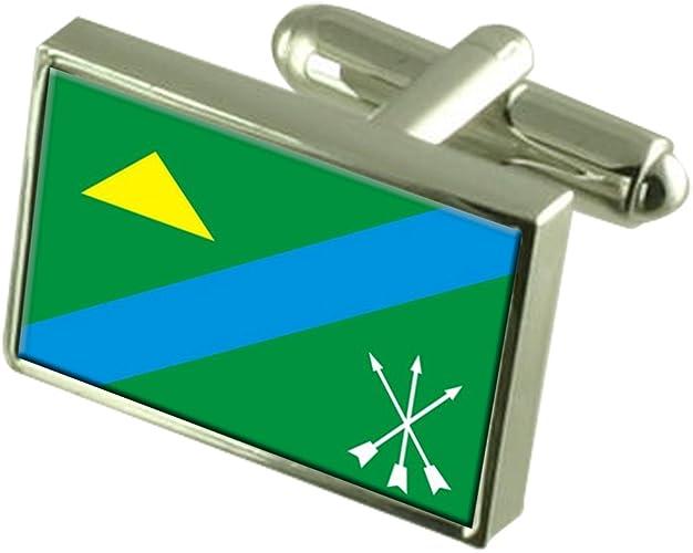Guanhaes City Minas Gerais State Flag Cufflinks