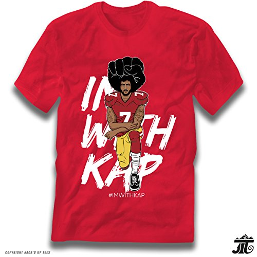 Jack'D Up Tees IMWITHKAP Colin Kaepernick Kneeling for sale  Delivered anywhere in USA