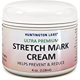 Natural Scar Stretch Mark Removal Cream with Vitamin E Extract Fade Acne Scars & Discoloration Marks from Pregnancy Surgery Burns Antioxidant Coconut Oil Jojoba Oil Sunflower Seed Oil Women & Men 4 oz