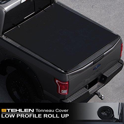 Stehlen 714937188143 Low Profile Roll Up Tonneau Cover - Black