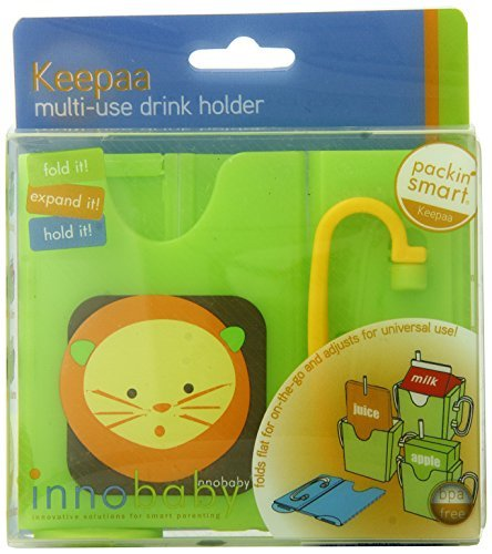Innobaby Packin' SMART Keepaa Juice Box Holder, Lime by Innobaby [並行輸入品]   B00W2WY5A0