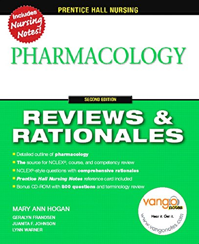 Prentice-Hall Reviews & Rationales: Pharmacology
