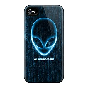 Scratch Resistant Hard Phone Covers For Iphone 6 With Customized Fashion Alienware Skin CharlesPoirier