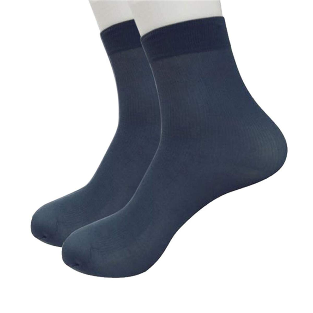 0b3cd294de69e0 Zolimx Herren Socken Bambusfaser Ultradünne Elastische Seidige kurze ...