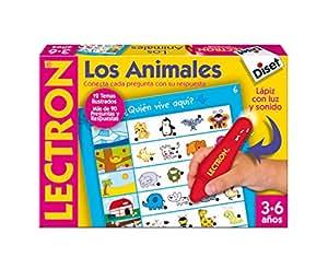 Diset 63883 - Lectron Lapiz Los Animales