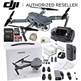 DJI Mavic Pro Collapsible Quadcopter + DJI Goggles Virtual Reality VR FPV POV Experience Starters Bundle