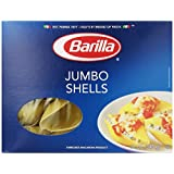 Barilla Pasta, Jumbo Shells, 12 Ounce Boxes (Pack of 12)