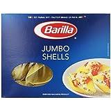 Barilla Pasta, Jumbo Shells, 12 Ounce Boxes (Pack of 12)