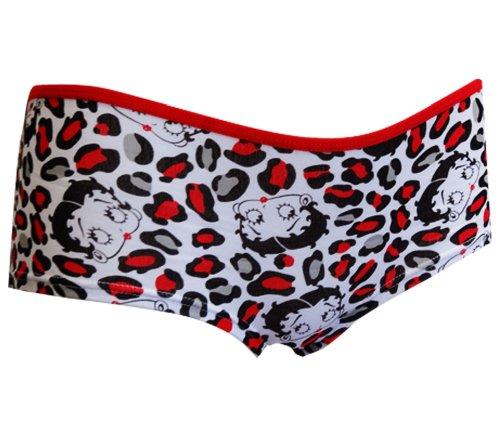 Leopard Print Betty Boop Bikini Panty for women (Small)
