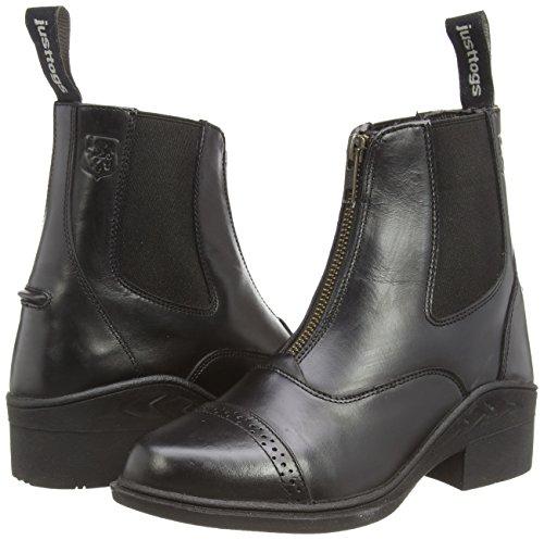 Fermeture Avec Boots En Just Togs Beaumont Noir Zip Cuir Jodhpur De ZHqpO4xfwO