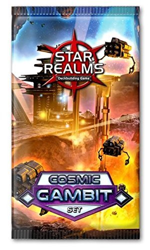 Star Realms - Cosmic Gambit Booster Pack Expansion by White Wizard Games