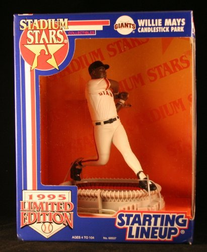 1995 Limited Edition Willie Mays MLB Stadium Star Starting ()
