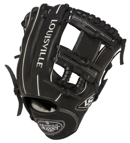 Louisville Slugger 11.25-Inch FG Pro Flare Baseball Infielders Gloves, Black, Right Hand Throw ()