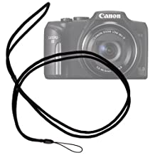 DURAGADGET Hardwearing Adjustable Neck Carrying Strap for Canon Powershot SX170 IS & SX160 IS (16.6 MP,16 x Optical Zoom,3 -inch LCD) / Canon PowerShot D30 / Canon PowerShot S110 / Canon PowerShot S200 / PowerShot N100