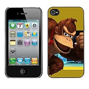 Stuss Case / Funda Carcasa protectora - Burro Rey - iPhone 4 / 4S