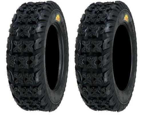 (Pair of Sedona Bazooka Front 21x7-10 (4ply) ATV Tires (2))
