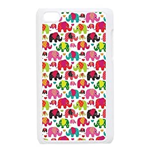 Colorful Elephants Protective Hard PC Back Fits For SamSung Galaxy S3 Case Cover