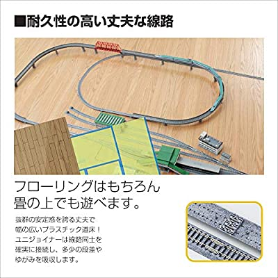 Kato USA Model Train Products N V13 UNITRACK Double Track Elevated Loop Set: Toys & Games