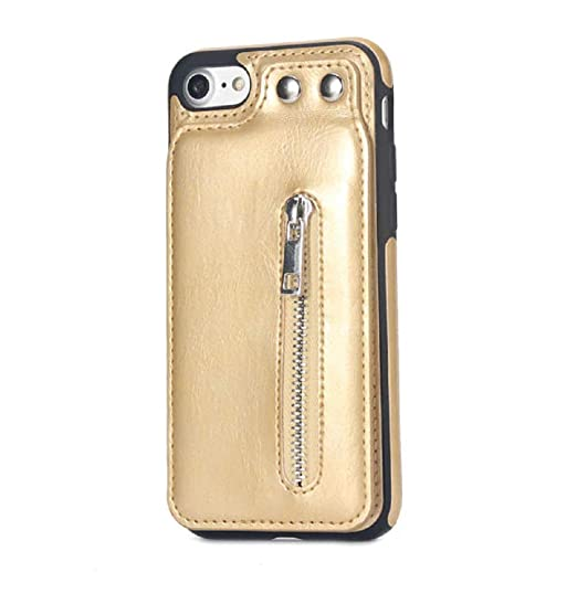 amazon com 1 pc cases for iphone x 8 7 6s 6 plus fashion zipperimage unavailable image not available for color 1 pc cases for iphone x 8 7 6s 6 plus fashion zipper leather phone case
