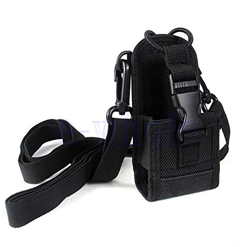 Shalleen MSC-20D Nylon Bag Pouch Holster Case For Baofeng Motorola Kenwood Radio