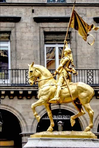 Joan Of Arc Statue Paris - 6