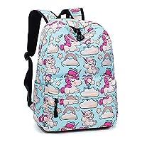 Leaper Fashion School Backpack for Women College Bookbag Shoulder Bag Daypack