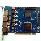 ISDN Pri E1/T1 Card with 4 E1/T1 Ports,For Freepbx,AsteriskNow,Issabel,Asterisk PCI Card IP PBX Gateway System