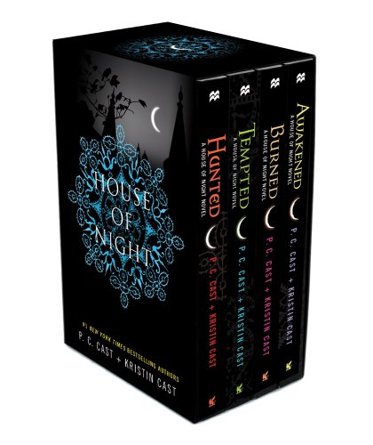 Hunted / Tempted / Burned / Awakened - Book  of the House of Night