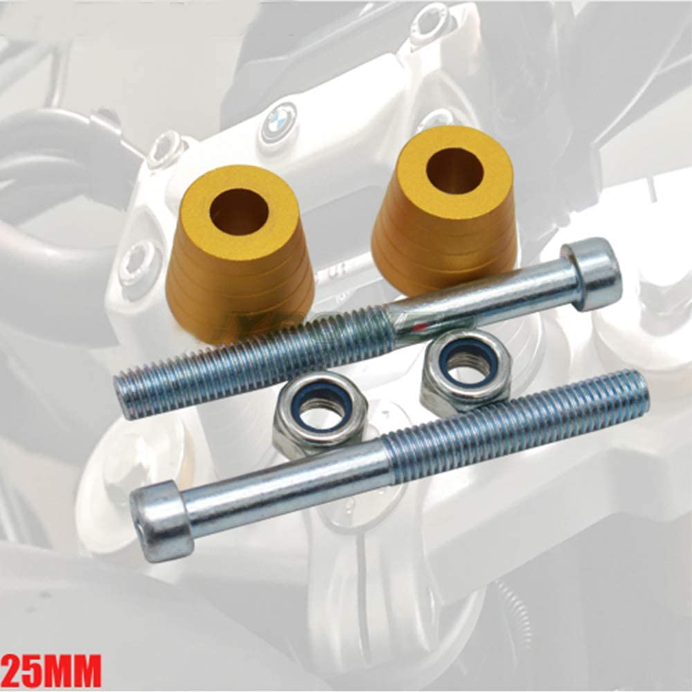 For BMW G 310 GS//R G310 Motorcycle Lift Handlebar Risers Raised 25MM