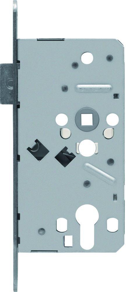 ABUS T/ür-Einsteckschloss Profilzylinder TKZ70 HG R hammerschlag-gold f/ür DIN-rechts T/üren 20819
