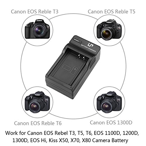 LP-E10 LP Battery Charger, Compatible with Canon EOS Rebel
