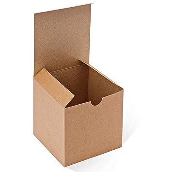 amazon 100 mesha kraft boxes 100 pack 4x 10cm x 10cm brown