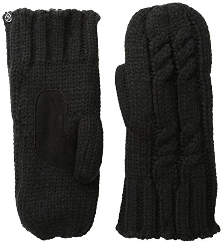 isotoner Women's Chunky Cable Knit Cold Weather Mittens with Warm, Soft -