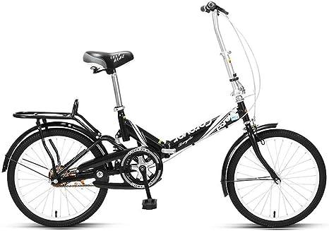 Bove Resistente Y Ligero Bicicleta Urbana Single Speed 20 Inch Amortiguadores Bicicleta MTB Plegable Sin Herramientas Bicicleta De Montaña Plegable Unisex Folding Bicicleta Plegable -A-20inch: Amazon.es: Deportes y aire libre