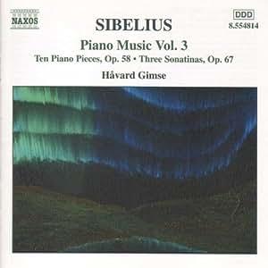 Sibelius: Piano Music, Vol. 3