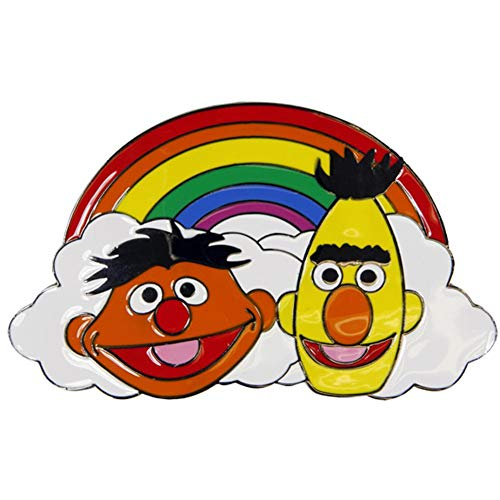 (Sesame Street - Bert & Ernie Belt Buckle)