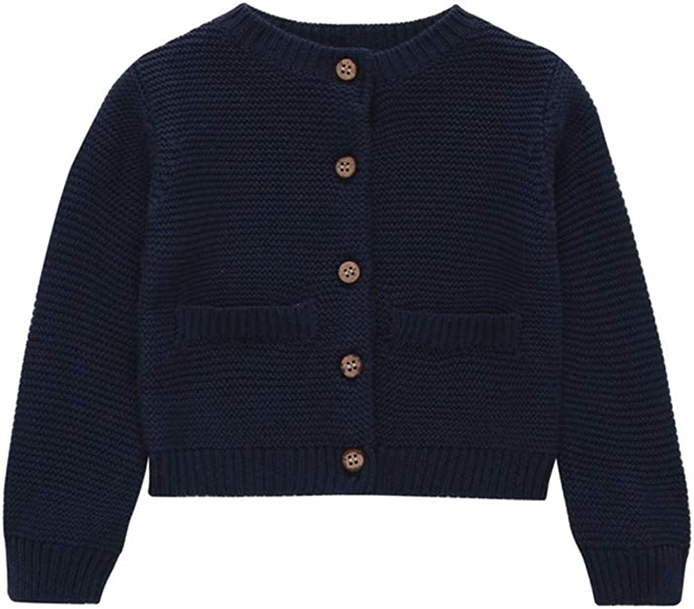 Iuhan Clearance Sweater Toddler Baby Boy Girl Botton Warm Knitted Tops Outfit Coat