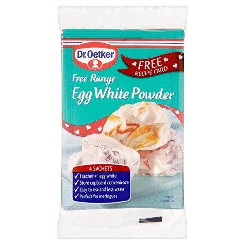 Dr Oetker Free Range Egg White Powder - 4 x 5g (0.04lbs) (Egg White Pasta)