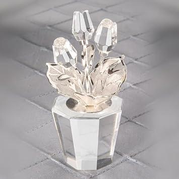 Amazon.com: Crystal Flower Pot Wedding Favors: Health & Personal Care
