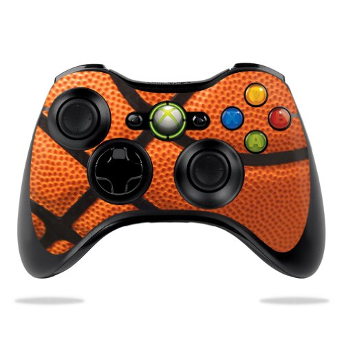 Protective Vinyl Skin Decal Cover For Microsoft Xbox 360 Controller Wrap Sticker Skins Basketball