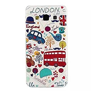 WQQ 20150511 TPU Graphic/Special Design Back Cover for SAMSUNG Galaxy A7