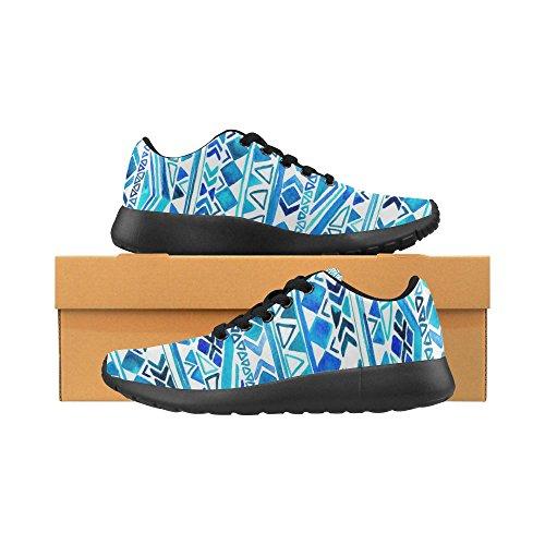 Interestprint Femmes Cross Trainer Chaussures De Course Jogging Sport Léger Marche Athlétisme Chaussures De Sport Multi 8