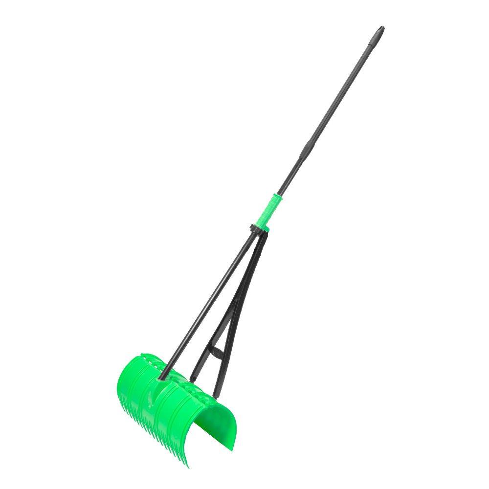 Amazing Rake 3-IN-1 Green Ergonomic Lightweight Pickup Yard Tool