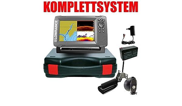 Lowrance Your Design Echolot Portabel Basic – hook2 7 Split Shot HDI Chirp Combo GPS: Amazon.es: Deportes y aire libre