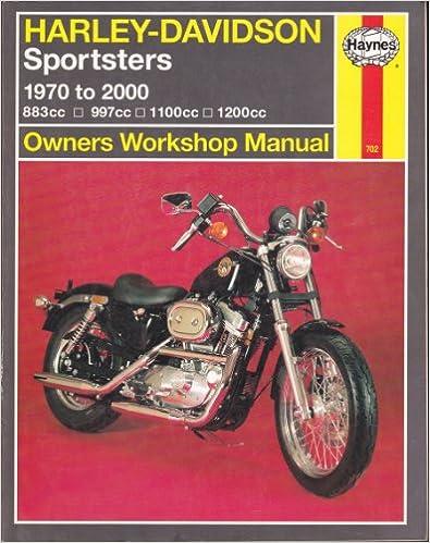 Harley-Davidson Sportsters Owners Workshop Manual: 1970-2000 (Haynes Owners Workshop Manuals)