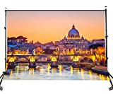 italian backdrop - Lyly County Photo Backdrop 5x7ft Venice Water City Night View Photography Studio Background Props Room Mural PB769