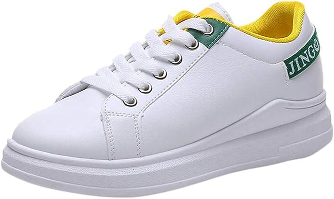 Chaussure Blanche Femme Plates Baskets Basses Pas Cher A La