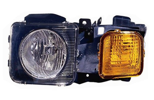 Hummer H-3 06-10 / H-3T 09-10 Headlight Assembly LH USA Driver Side CAPA