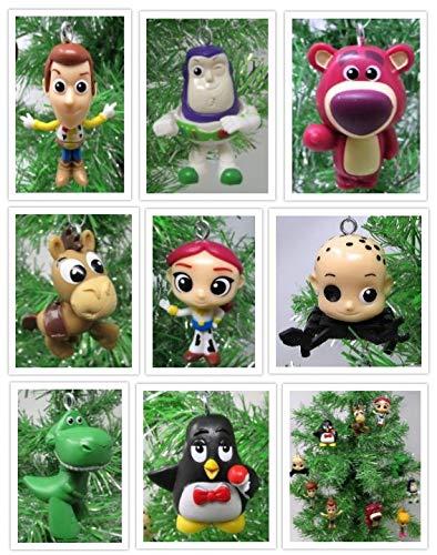 TOY STORY 3 ~ 8 Piece Christmas Tree Ornament Set Featuring Woody, Buzz Lightyear, Jessie, Lots-O-'Huggin' Bear, Rex, Slink and More (Buzz Lightyear Ornament)